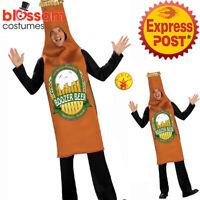 CA772 Boozer Beer Bottle Funny Humour Bucks Oktoberfest Fancy Stag Party Costume