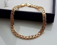 STAMPED 9ct GOLD BRACELET GF  ALMOST SOLD OUT! 21