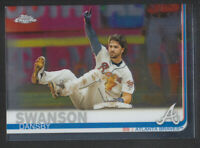 Topps - Chrome 2019 - # 169 Dansby Swanson - Atlanta Braves