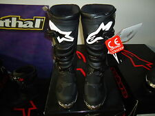 Alpinestar tech 1 Black taille 8/42-crossstiefel-Boots