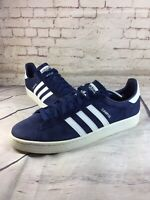 adidas Originals Campus Bz0086 Dark BLUE Chalk WHITE Shoes Sz 12