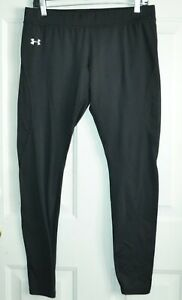 MENS UNDER ARMOUR FITTED COLD GEAR BASE LAYER  PANTS LARGE 34-36