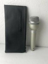 Realistic Super Omnidirectional Dynamic Microphone, 33-1070B W/ Case Bag