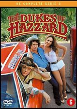 THE DUKES OF HAZZARD : SEASON 3 -   DVD - PAL Region 2 - New