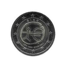 Commemorative Coin 2 Euros Ireland EMU 2009 European Economic Unification UNC