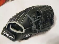 WILSON PROTECH A360 GENUINE LEATHER SOFTBALL GLOVE 12.5 RIGHT HAND THROWER~BLACK