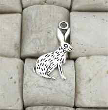 PJ786 50pc Retro Tibetan Silver rabbit Charm Beads Pendant Jewellery Making