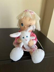 Precious Moments Doll with Bunny  #073280  - 2004 - NWT
