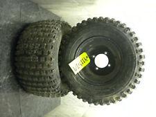 yamaha banshee warrior raptor yfz 450 350 660 700 rear tires wheels rims 4x115