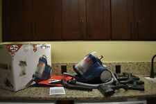 Severin Germany Bagged Canister Vacuum Cleaner Corded Hard Floor Ocean Blue-Used