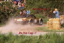 Walter Rohrl Porsche 924 Carrera GTS Metz Rally 1981 Photograph 1
