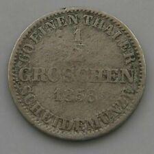 GERMAN STATES GROSCHEN 1858 HANNOVER #ix 429