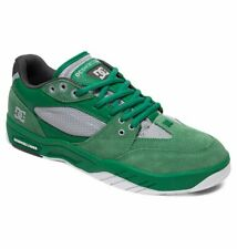 Tg 42 - Scarpe Uomo Skate DC Shoes Maswell Green Verde Sneakers Schuhe 2019