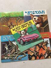 MISP Vintage Gremlins Record Book Complete Set of 5