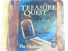 Treasure Quest: The Challenge (1996) w/ Soundtrack -Obscure PUZZLES -SIRIUS MINT