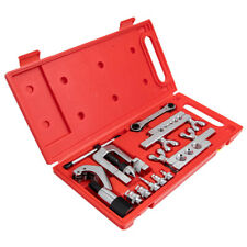 Flaring Swaging Hvac Soft Brass Tubing Copper Extrusion Tool Set 45 Degree