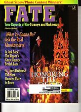 Fate Magazine October 1995 Jack the Ripper St Louis Firehouse Haunted Ghosts