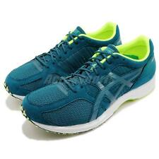 Asics Tartherzeal 6 Wide Deep Aqua Volt White Men Running Shoes TJR292-401