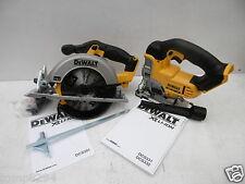 DEWALT XR 18V DCS391 CIRCULAR SAW & DCS331 JIGSAW BARE UNITS