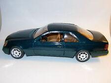 MERCEDES BENZ 600 S S600 V12 Limousine Verte Green par MAJORETTE au 1/18