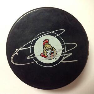 Thomas Chabot Signed Ottawa Senators Hockey Puck Autographed a