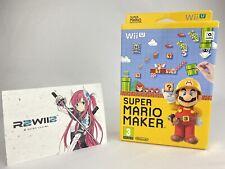 Super Mario Maker & Artbook (Nintendo Wii U)