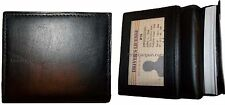 Lot of 2 Leather Business Credits Card ID card Holder Sixty cards for Men/Women