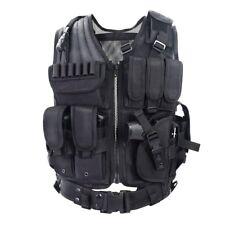 Gilet Tattico Softair Militare Tactical Vest Leggero Traspirante SWAT Regolabile