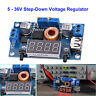 DC-DC Step Down Converter 5-36V to 1.25-32V 5A Buck Voltage Regulator w/ Display