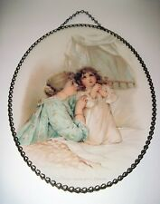 Gallery Graphics Replica Victorian Flue Cover Mother Daughter Lord's Prayer