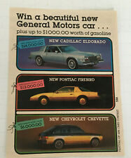 vintage advertising mail in instant skill bingo festival of GM contest firebird