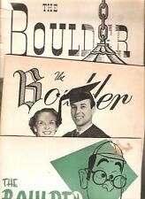 1950s DePauw University The Boulder College Humor (3) Magazines cigarette ads