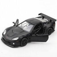 Chevrolet Corvette C6-R 1:36 Scale Model Car Diecast Toy Vehicle Gift Kids Black
