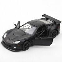 Chevrolet Corvette C6-R 1:36 Scale Model Car Diecast Toy Vehicle Gift Kids Black