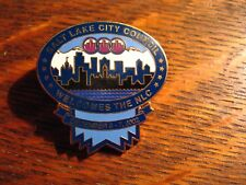National League Of Cities Lapel Pin - Vintage 2002 Salt Lake City Congress Pin
