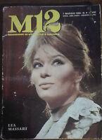 M 12 attività e cultura - Lea Massari - Edizioni periodici SEI,1968 - A