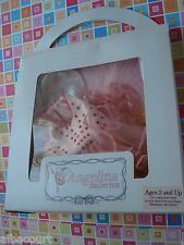 AG ANGELINA BALLERINA ON STAGE PINK ROSE FAIRY PRINCESS DRESS TUTU BRAND NEW