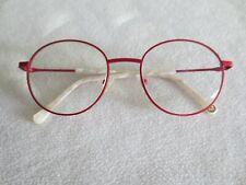 Bellinger red round glasses frames. Bold-4.