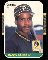 1987 Donruss RC Barry Bonds Rookie Pittsburgh Pirates #361