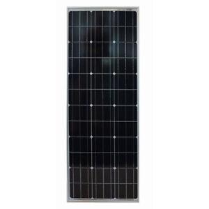 Monocrystalline Solar Panel 140W/12V Sun Plus, narrow, for campers, boats etc