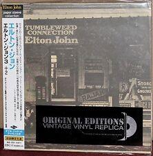 JAPAN Made CD UICY-9102: ELTON JOHN - Tumbleweed Connection, OBI 2001 OOP SEALED
