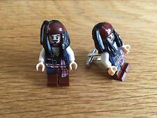 Jack Sparrow cufflinks. Pirates of the Caribbean minifigure cuff links. Captain.