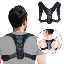 Back Posture Corrector Shoulder Straightener Brace Neck Pain Relief Women Men