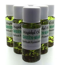 hombre verde Herbal Magia Unción 10ml Aceite espiritual Protección