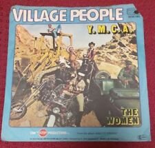 Village People YMCA - The Women, German Import, Rare Cover picture sleeve 45 EX