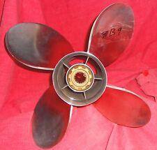 PowerTech! 14 x 25 4 Blade Stainless Steel Propeller For Mercury 40 - 140HP (B9)