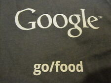 Google Cafeteria Food T-SHIRT Small Tee Googleplex Free Lunch American Apparel S