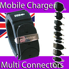 POWERSTRAP MOBILE POWER BANK CHARGER MP3 IPOD IPHONE TABLET MULTI CONNECTOR