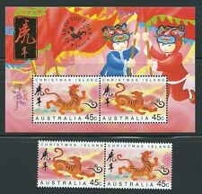 Australia - Beautiful  MNH Stamps & Souvenir Sheet  .............N - A 8404