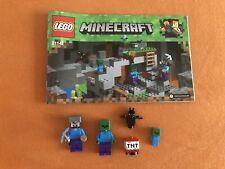 Lego Minecraft Figurenset und Bauanleitung Lego 21141